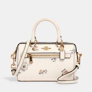 Coach Micro Rowan Dandelion Floral Bag New
